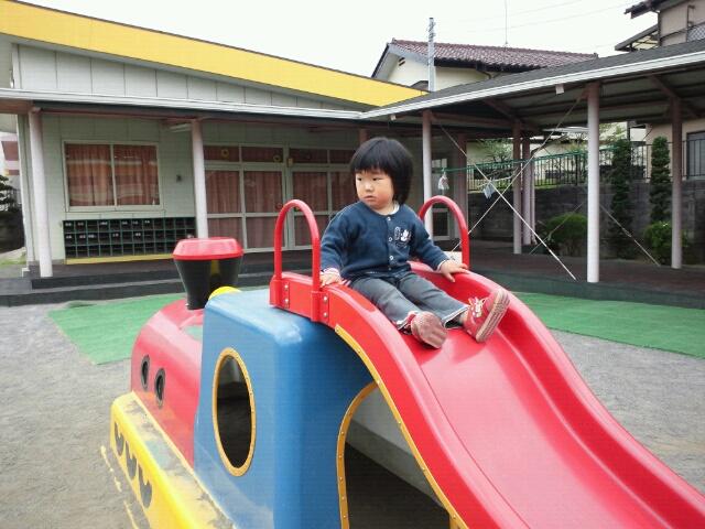 幼稚園の園庭解放